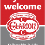 Cyclists Welcome Stickers