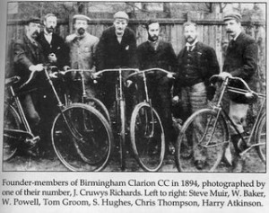 Founder Members 1894 Birmingham Clarion CC