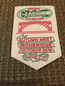 National Clarion Autumn Meet 2016 Ribbon