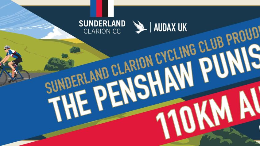 The Penshaw Punisher, 110km Audax Sunday 11th September 2016